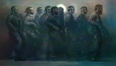 نقاشی دیجیتال مدافعان حرم