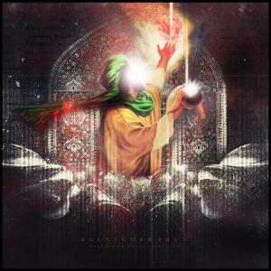 پوستر زیبای حضرت علی اصغر علیه السلام