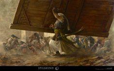 نقاشی واقعه خیبر