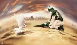 تصویر سازی شهادت حضرت علی اکبر