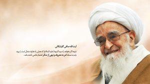 امر به معروف و نهی از منکر در کلام آیت الله العظمی صافی
