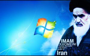 بک گراند زیبای امام خمینی مخصوص ویندوز