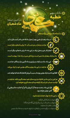 فضیلت ماه مبارک رمضان در خطبه حضرت رسول(ص)